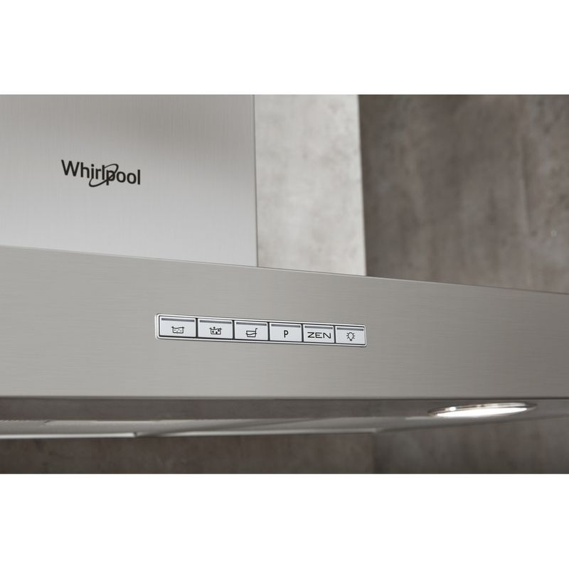 Whirlpool-Hotte-Encastrable-WHBS-93-F-LE-X-Inox-Mural-Electronique-Lifestyle-control-panel
