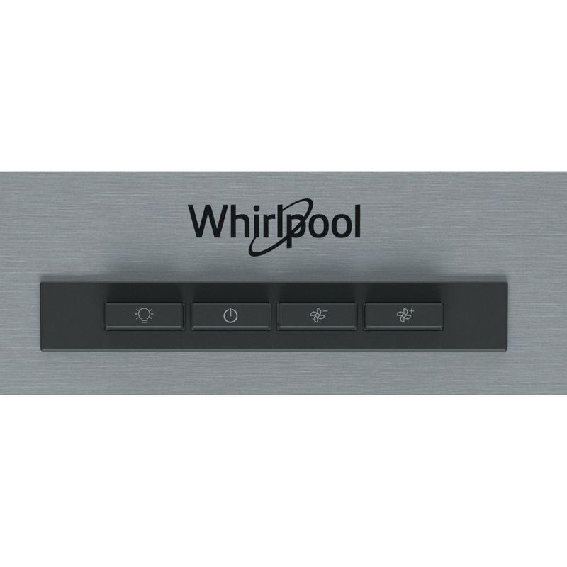 Whirlpool-Hotte-Encastrable-WSLK-66-1-AS-X-Gris-Mural-Mecanique-Control-panel