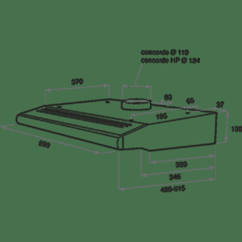 Whirlpool-Hotte-Encastrable-AKR-441--1-NB-Noir-Mural-Mecanique-Technical-drawing