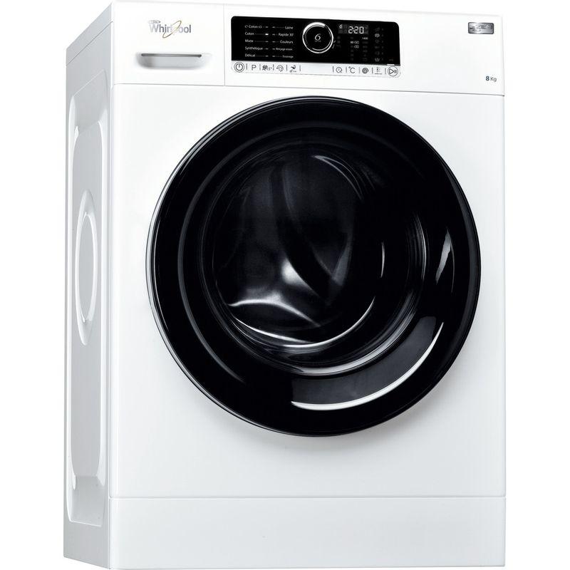 Whirlpool-Lave-linge-Pose-libre-ZEN8-Blanc-Lave-linge-frontal-A----Perspective