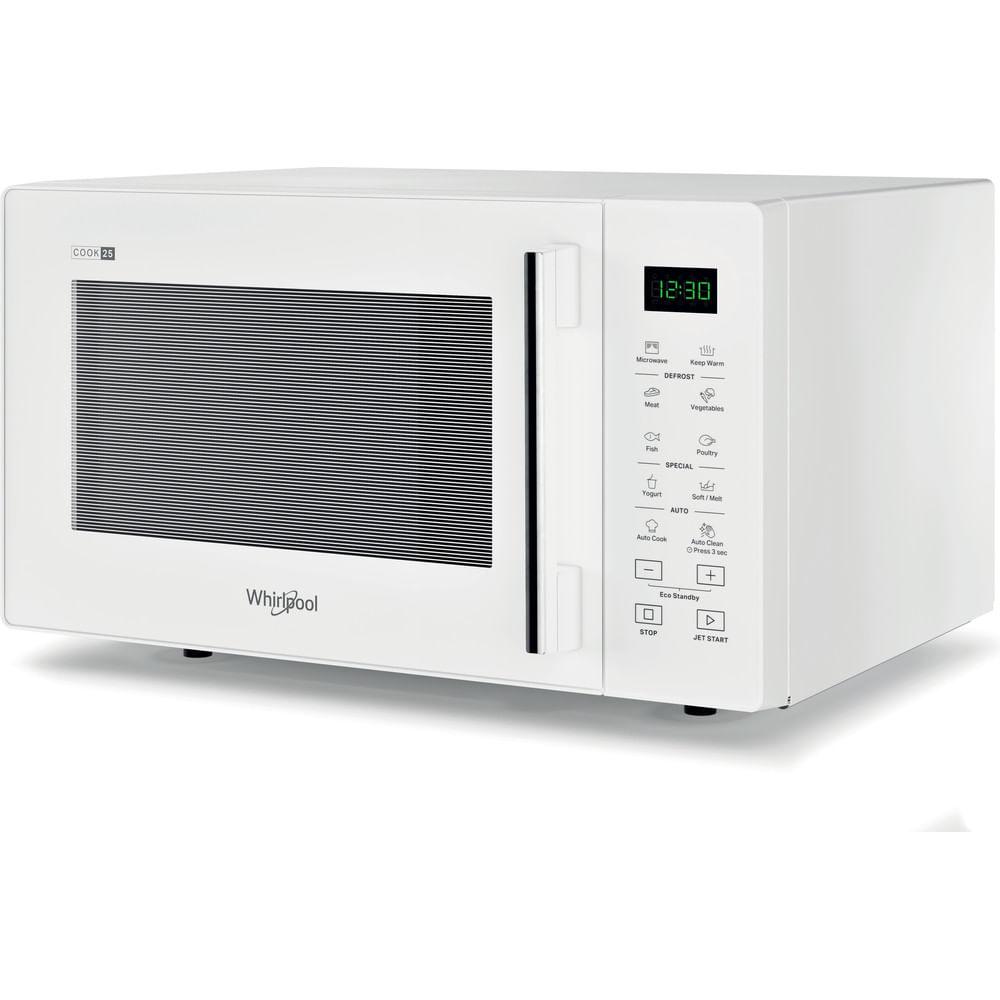 Whirlpool Micro-ondes posable MWP 251 W : consultez les spécificités de votre appareil et découvrez toutes ses fonctions innovantes pour votre famille et votre maison.