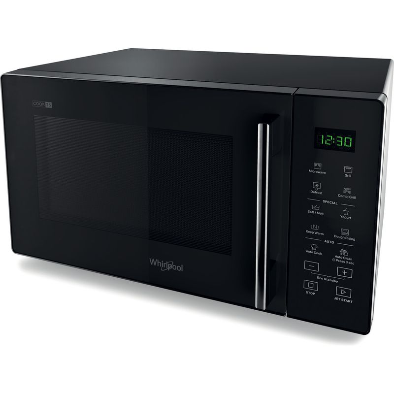 Whirlpool-Four-micro-ondes-Pose-libre-MWP-253-B-Noir-Electronique-25-Micro-ondes---gril-900-Perspective