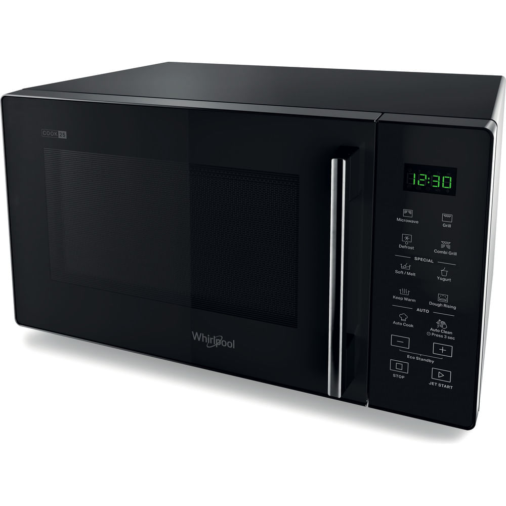 Whirlpool Micro-ondes posable MWP 253 B : consultez les spécificités de votre appareil et découvrez toutes ses fonctions innovantes pour votre famille et votre maison.