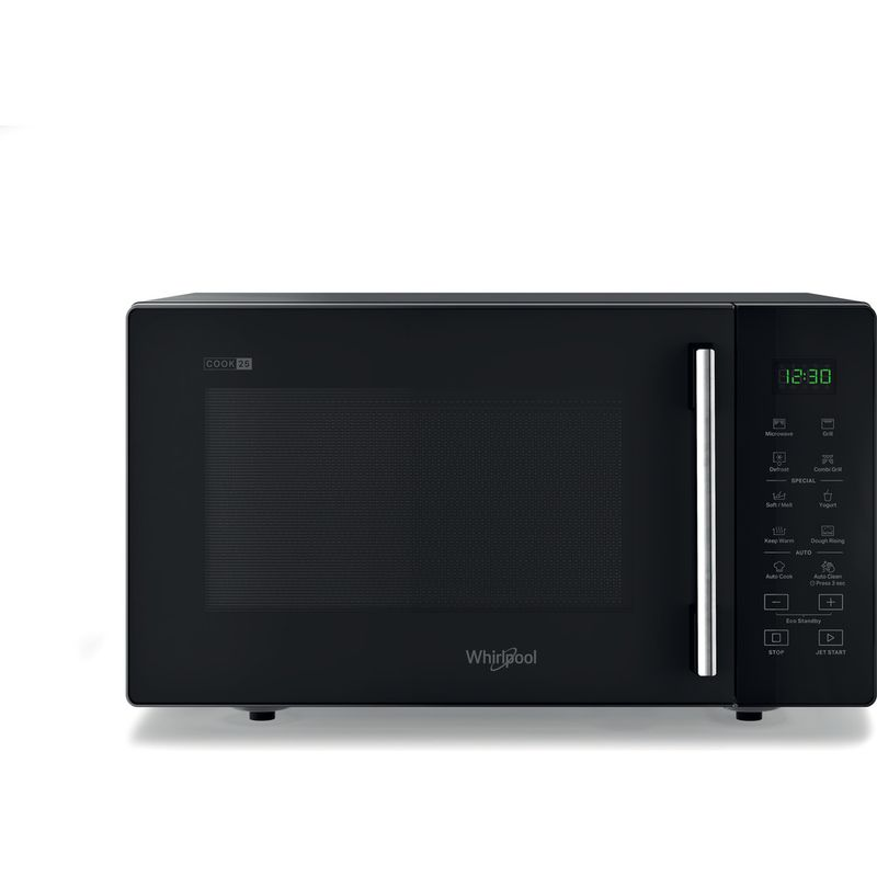 Whirlpool-Four-micro-ondes-Pose-libre-MWP-253-B-Noir-Electronique-25-Micro-ondes---gril-900-Frontal