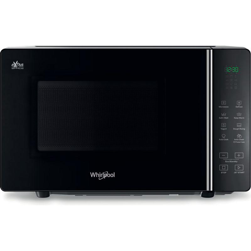 Whirlpool-Four-micro-ondes-Pose-libre-MWF-201-B-Noir-Electronique-20-Micro-ondes-uniquement-800-Frontal