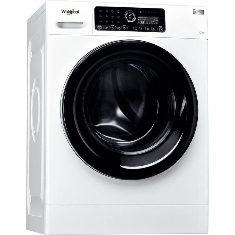 Whirlpool-Lave-linge-Pose-libre-ZENDOSE10-Blanc-Lave-linge-frontal-A----Perspective