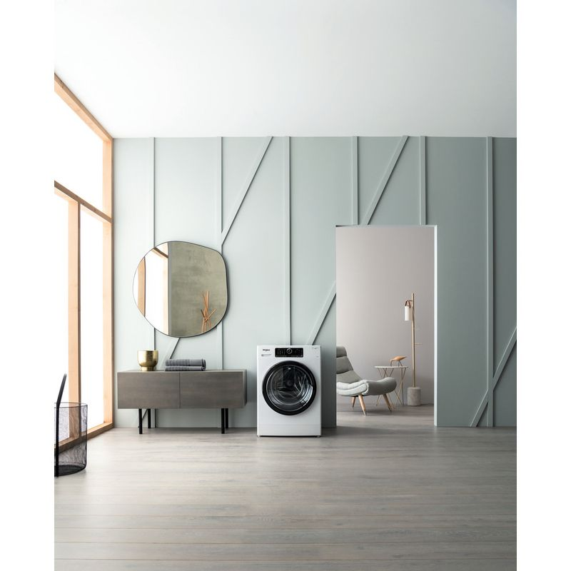 Whirlpool-Lave-linge-Pose-libre-ZENDOSE9-Blanc-Lave-linge-frontal-A----Lifestyle-frontal