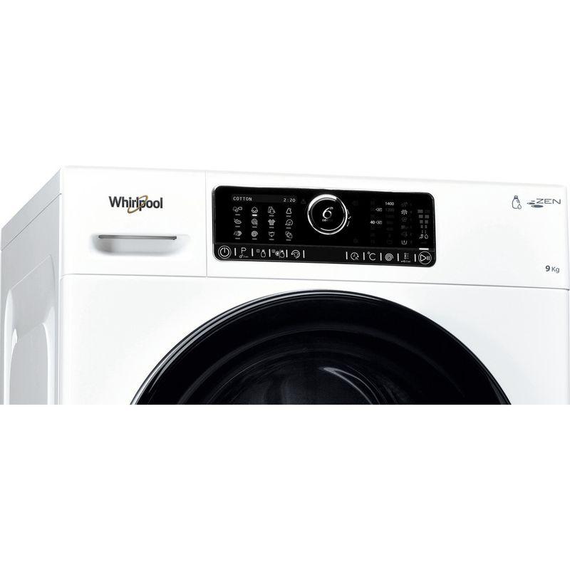 Whirlpool-Lave-linge-Pose-libre-ZENDOSE9-Blanc-Lave-linge-frontal-A----Control-panel