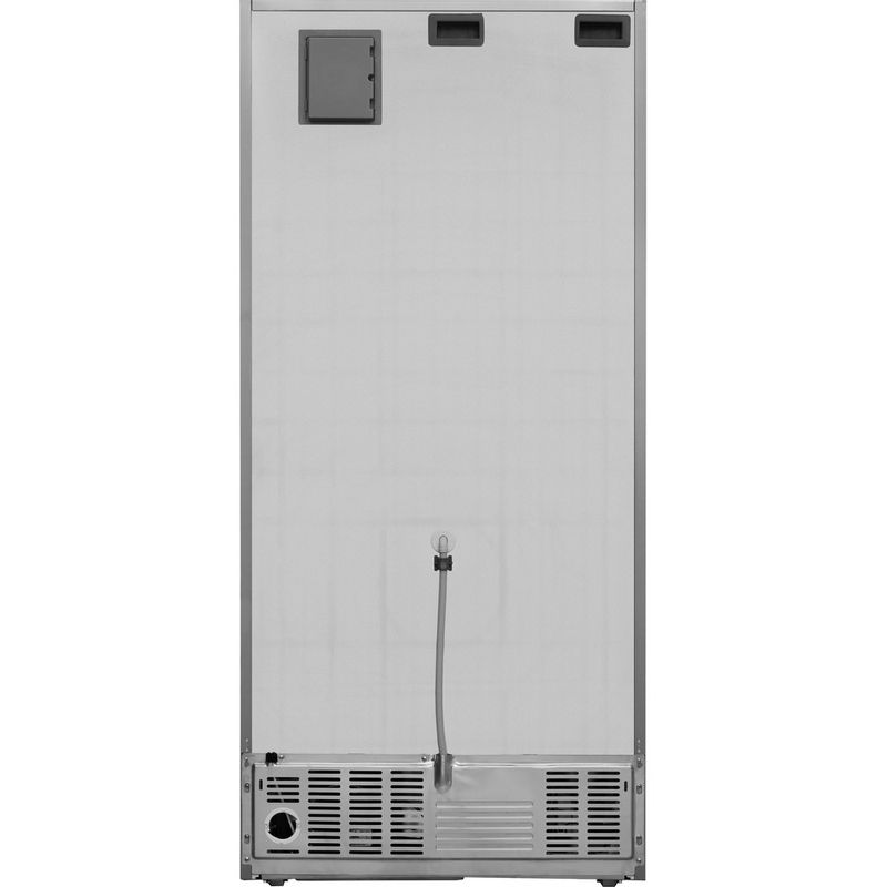 Whirlpool-Combine-refrigerateur-congelateur-Pose-libre-W84BE-72-X-Inox-2-portes-Back---Lateral