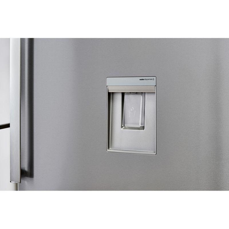 Whirlpool-Combine-refrigerateur-congelateur-Pose-libre-W84TE-72-X-AQUA-Inox-2-portes-Lifestyle-detail