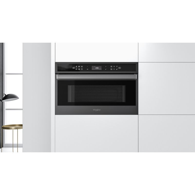 Whirlpool-Four-micro-ondes-Encastrable-W6-MD440-BSS-Acier-noir-Electronique-31-Micro-ondes---gril-1000-Lifestyle-frontal