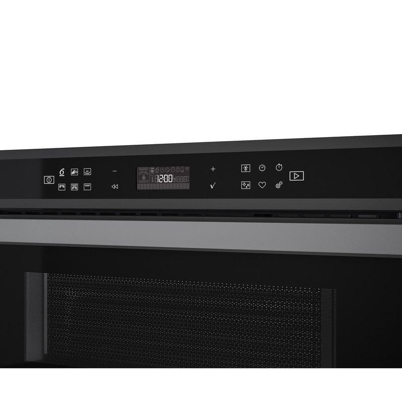 Whirlpool-Four-micro-ondes-Encastrable-W6-MD440-BSS-Acier-noir-Electronique-31-Micro-ondes---gril-1000-Control-panel
