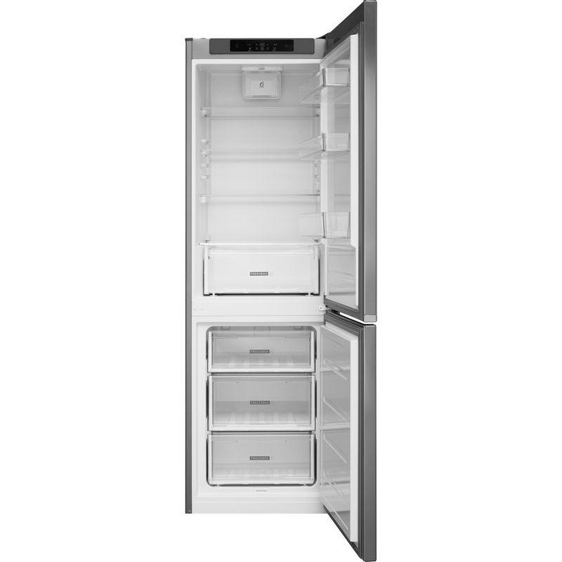 Whirlpool-Combine-refrigerateur-congelateur-Pose-libre-W5-821C-OX-Optic-Inox-2-portes-Frontal-open