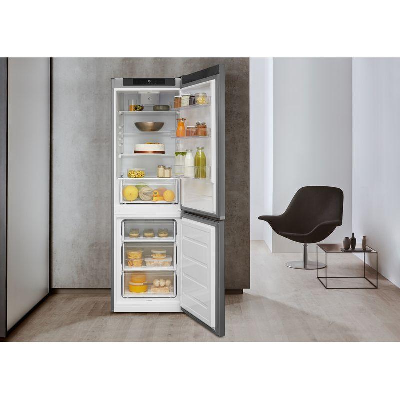 Whirlpool-Combine-refrigerateur-congelateur-Pose-libre-W5-821C-OX-Optic-Inox-2-portes-Lifestyle-frontal-open