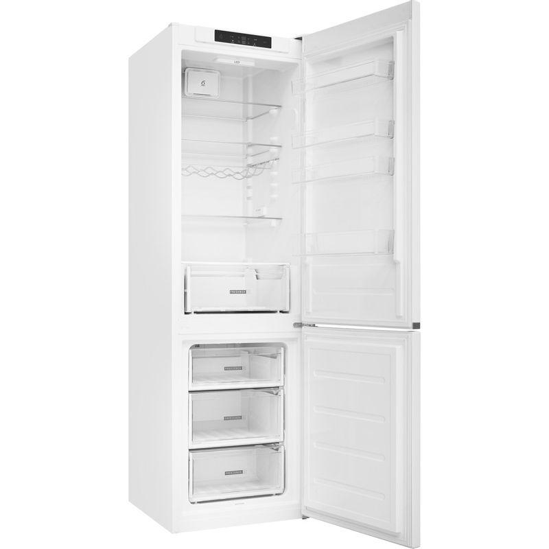 Whirlpool-Combine-refrigerateur-congelateur-Pose-libre-W5-921C-W-Blanc-2-portes-Perspective-open
