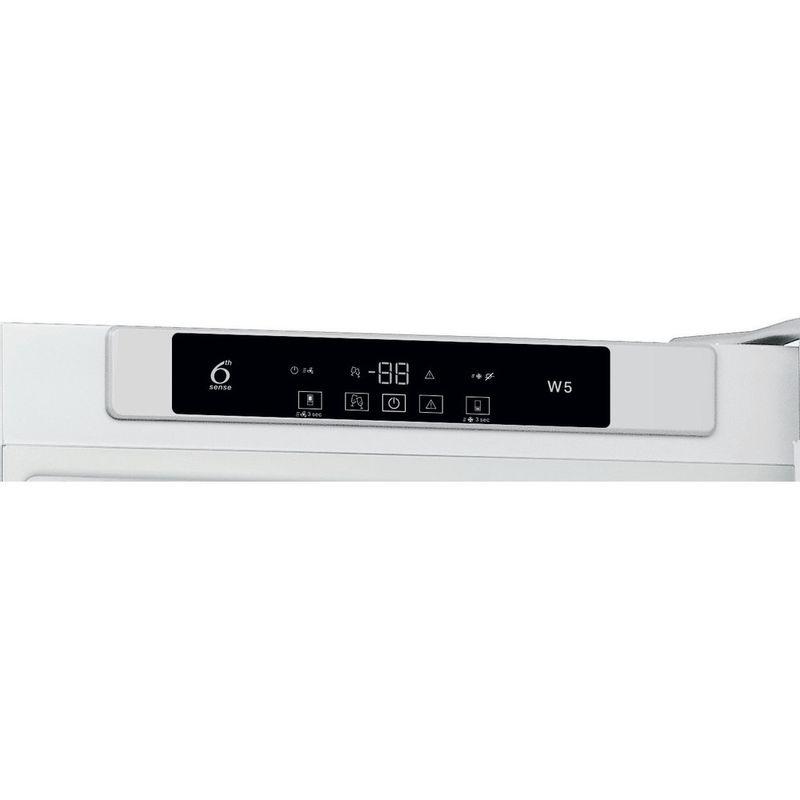 Whirlpool-Combine-refrigerateur-congelateur-Pose-libre-W5-921C-W-Blanc-2-portes-Control-panel