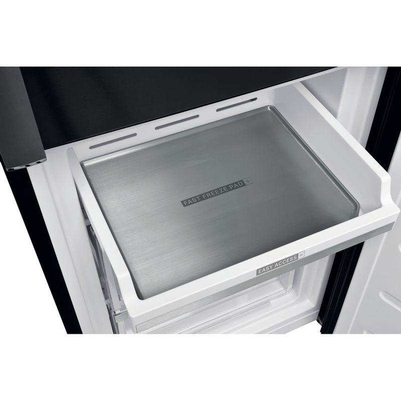 Whirlpool-Combine-refrigerateur-congelateur-Pose-libre-W9-931D-KS-H-Noir-Inox-2-portes-Drawer