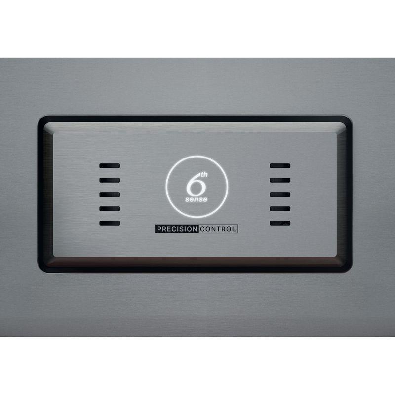 Whirlpool-Americain-Pose-libre-WQ9I-FO1BX-Acier-noir-Control-panel