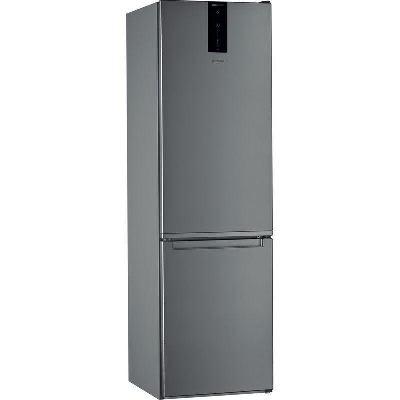 Whirlpool-Combine-refrigerateur-congelateur-Pose-libre-W7-911O-OX-Optic-Inox-2-portes-Perspective