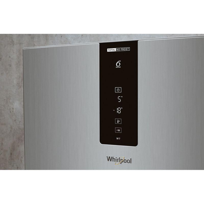 Whirlpool-Combine-refrigerateur-congelateur-Pose-libre-W7-821O-OX-H-Optic-Inox-2-portes-Lifestyle-control-panel