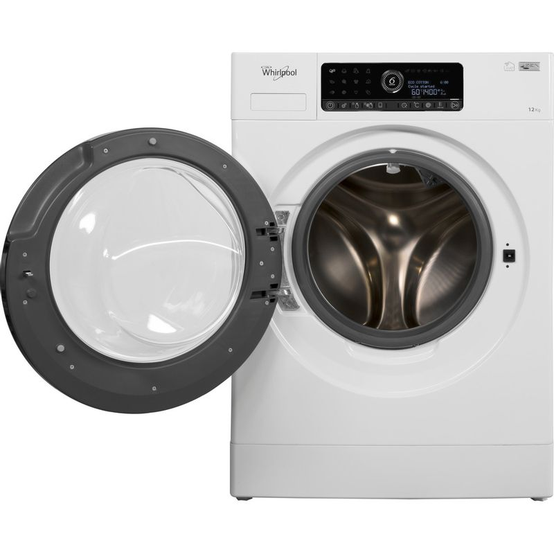 Whirlpool-Lave-linge-Pose-libre-ZENDOSE12-Blanc-Lave-linge-frontal-A----Frontal-open