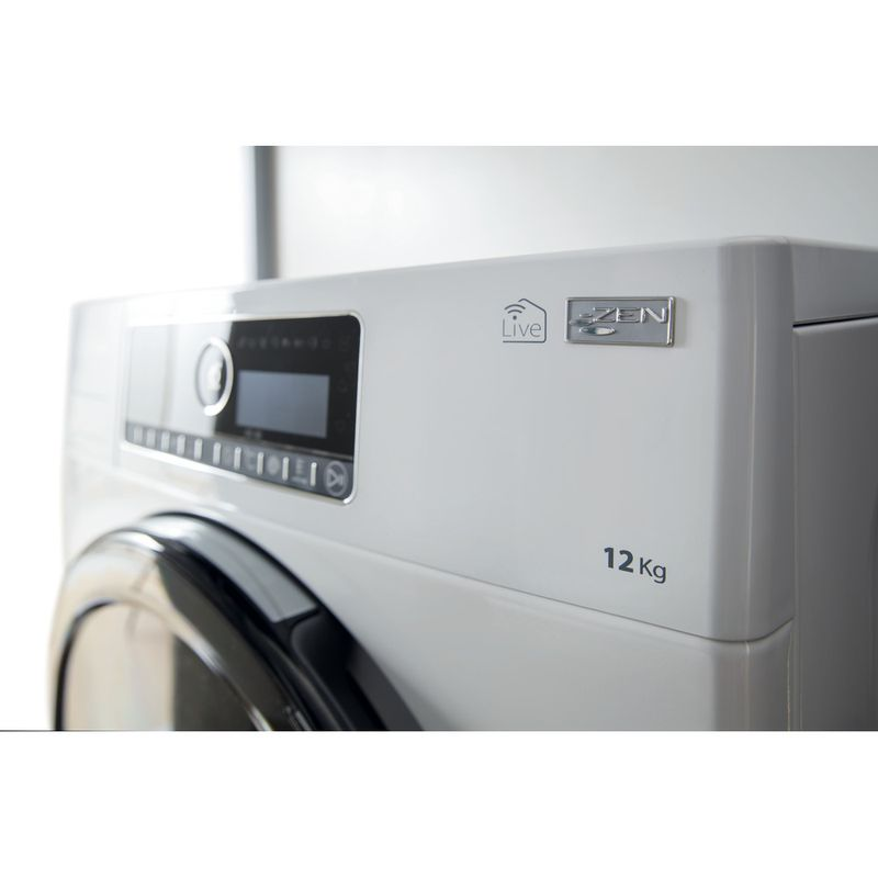 Whirlpool-Lave-linge-Pose-libre-ZENDOSE12-Blanc-Lave-linge-frontal-A----Control-panel