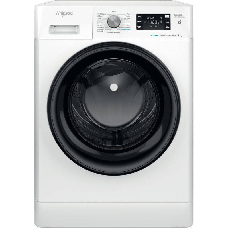 Whirlpool-Lave-linge-Pose-libre-FFB-8248-BV-FR-Blanc-Lave-linge-frontal-C-Frontal