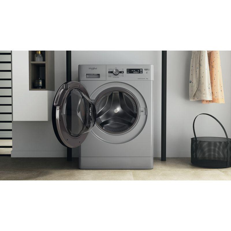 Whirlpool-Lave-linge-Pose-libre-FFS-9248-SB-FR-Argent-Lave-linge-frontal-C-Lifestyle-frontal-open