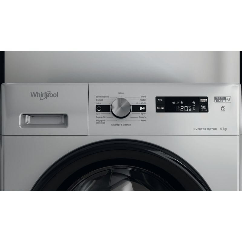 Whirlpool-Lave-linge-Pose-libre-FFS-9248-SB-FR-Argent-Lave-linge-frontal-C-Lifestyle-control-panel