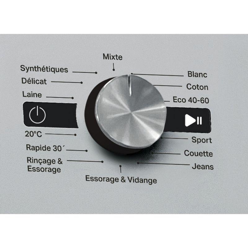 Whirlpool-Lave-linge-Pose-libre-FFS-9248-SB-FR-Argent-Lave-linge-frontal-C-Control-panel