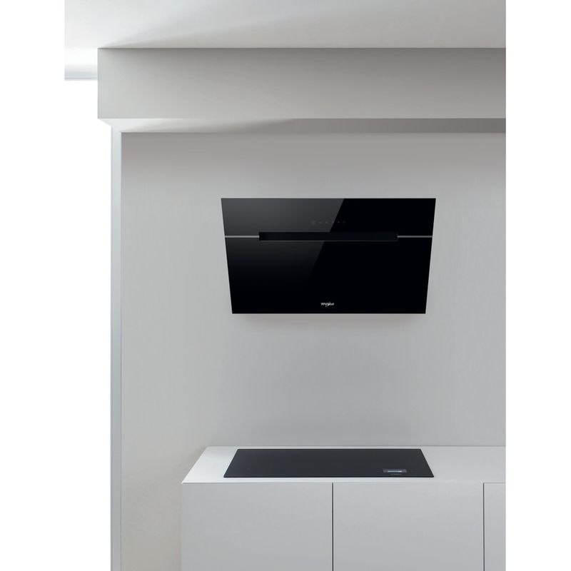 Whirlpool-Hotte-Encastrable-WHVS-92F-LT-K-Noir-Mural-Electronique-Lifestyle-frontal