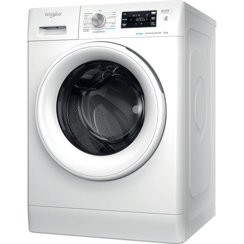 Whirlpool-Lave-linge-Pose-libre-FFBS-8448-WV-FR-Blanc-Lave-linge-frontal-C-Perspective