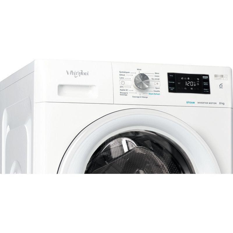 Whirlpool-Lave-linge-Pose-libre-FFBS-8448-WV-FR-Blanc-Lave-linge-frontal-C-Control-panel