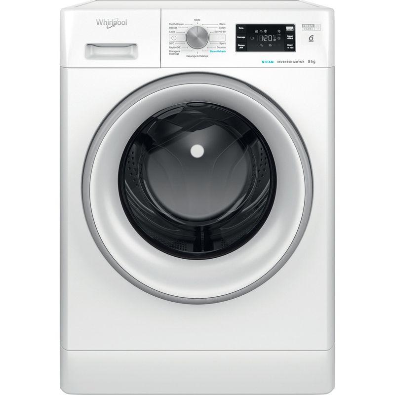 Whirlpool-Lave-linge-Pose-libre-FFBC-8448-SV-FR-Blanc-Lave-linge-frontal-C-Frontal