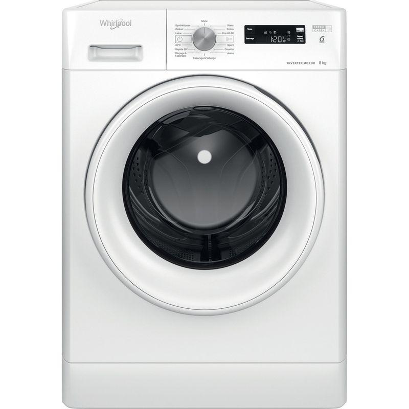 Whirlpool-Lave-linge-Pose-libre-PFFS-38248-W-FR-Blanc-Lave-linge-frontal-C-Frontal