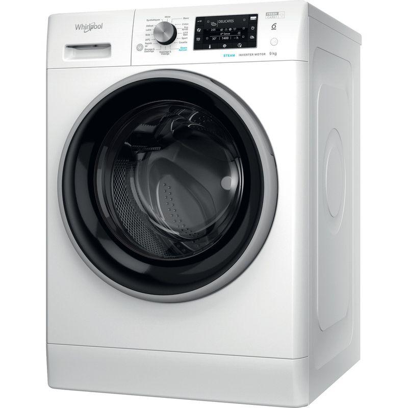Whirlpool-Lave-linge-Pose-libre-FFDD-9448-BSV-FR-Blanc-Lave-linge-frontal-C-Perspective