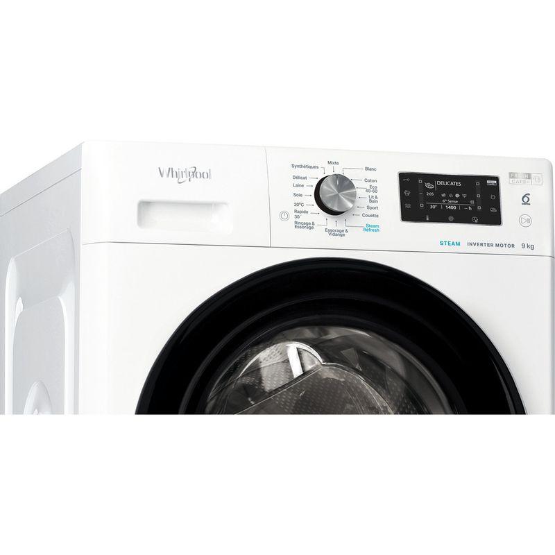 Whirlpool-Lave-linge-Pose-libre-FFDB-9448-BV-FR-Blanc-Lave-linge-frontal-C-Control-panel