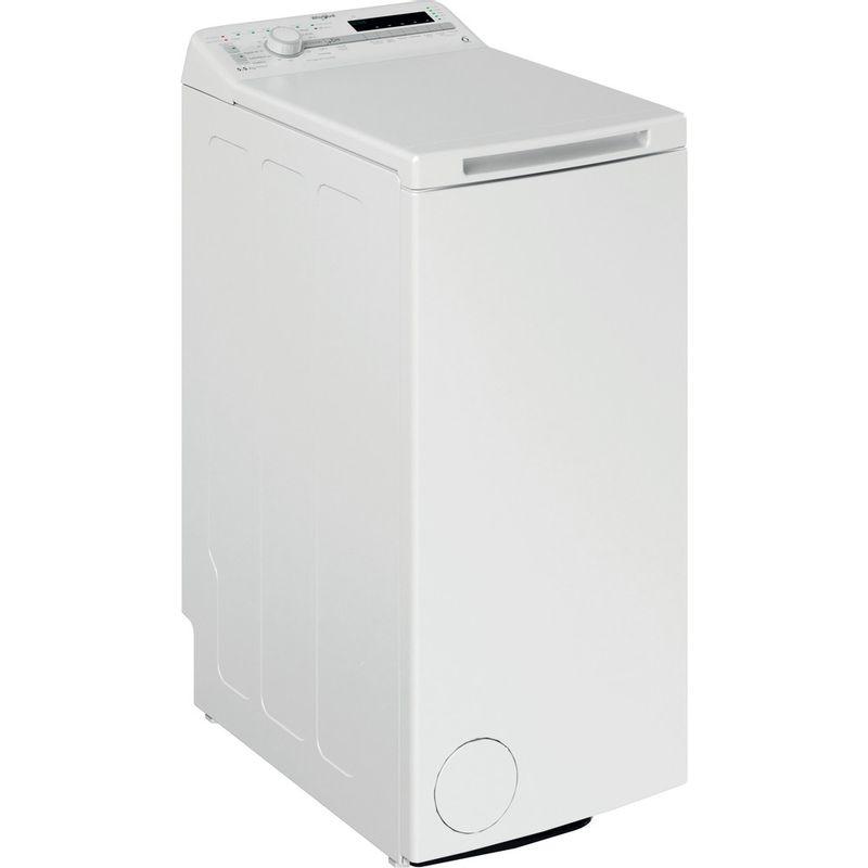 Whirlpool-Lave-linge-Pose-libre-TDLR-55120S-FR-N-Blanc-Lave-linge-top-E-Perspective
