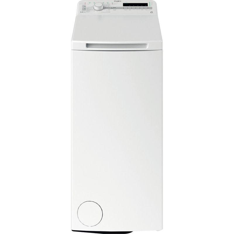 Whirlpool-Lave-linge-Pose-libre-TDLR-55120S-FR-N-Blanc-Lave-linge-top-E-Frontal