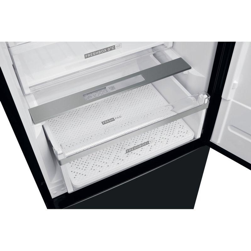 Whirlpool-Combine-refrigerateur-congelateur-Pose-libre-W9-931D-KS-H-Noir-Inox-2-portes-Lifestyle-detail