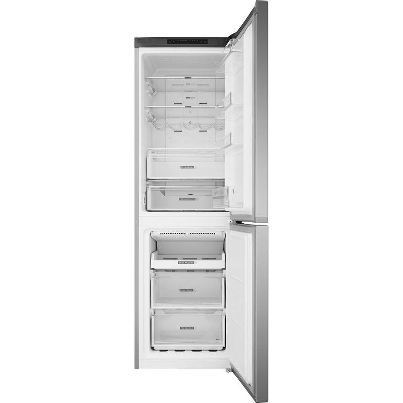 Whirlpool-Combine-refrigerateur-congelateur-Pose-libre-W7-831A-OX-Optic-Inox-2-portes-Frontal-open