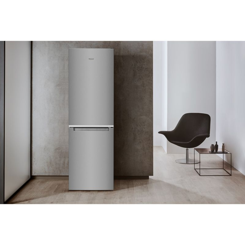 Whirlpool-Combine-refrigerateur-congelateur-Pose-libre-W7-831A-OX-Optic-Inox-2-portes-Lifestyle-frontal