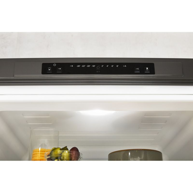 Whirlpool-Combine-refrigerateur-congelateur-Pose-libre-W7-831A-OX-Optic-Inox-2-portes-Lifestyle-control-panel