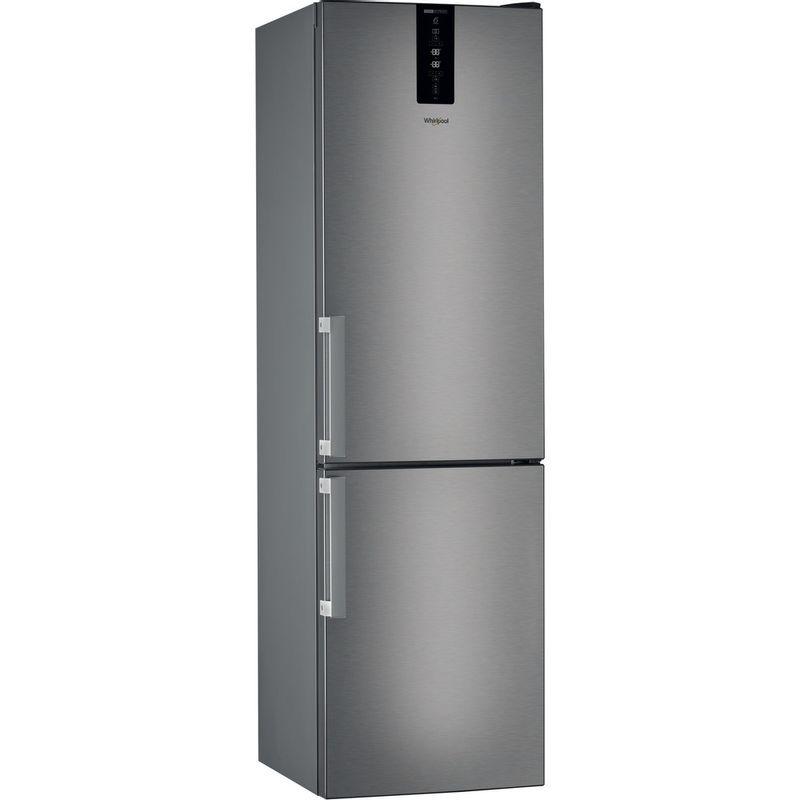 Whirlpool-Combine-refrigerateur-congelateur-Pose-libre-W7-832T-MX-H-Miroir-Inox-2-portes-Perspective