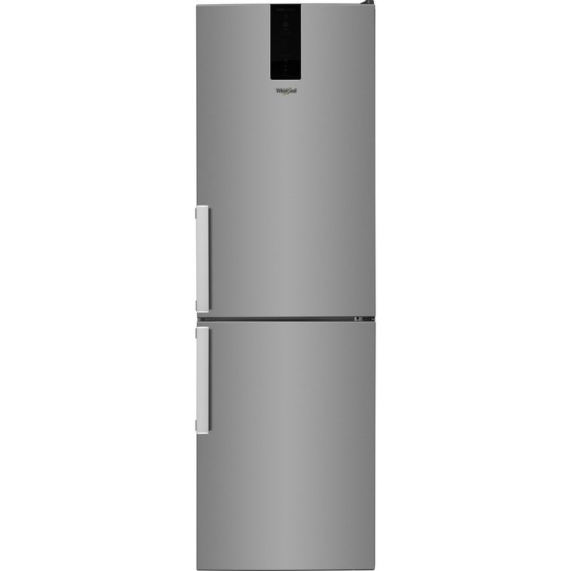 Whirlpool-Combine-refrigerateur-congelateur-Pose-libre-W7-832T-MX-H-Miroir-Inox-2-portes-Frontal
