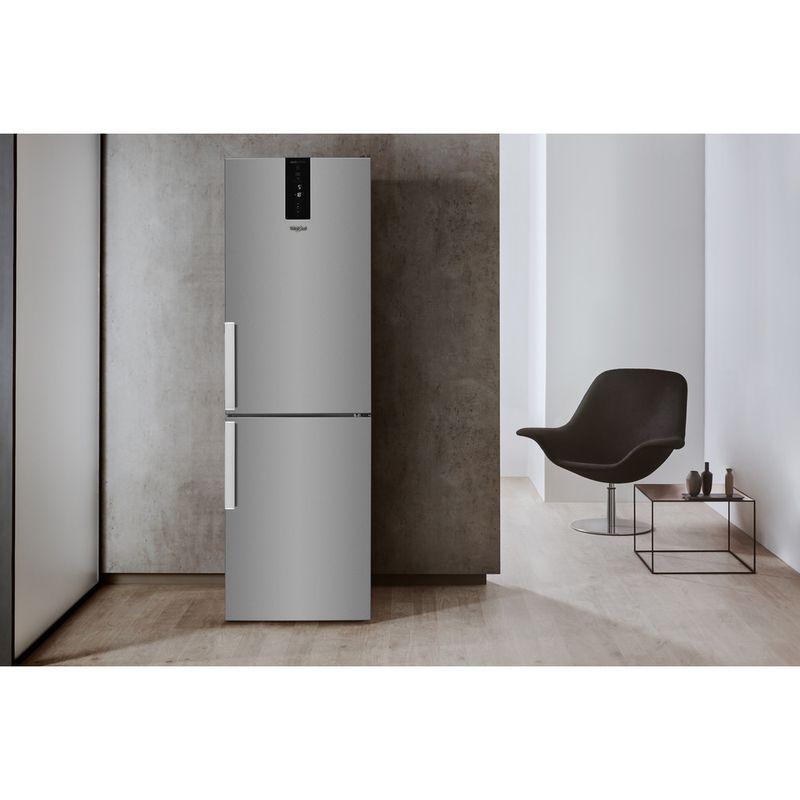 Whirlpool-Combine-refrigerateur-congelateur-Pose-libre-W7-832T-MX-H-Miroir-Inox-2-portes-Lifestyle-frontal