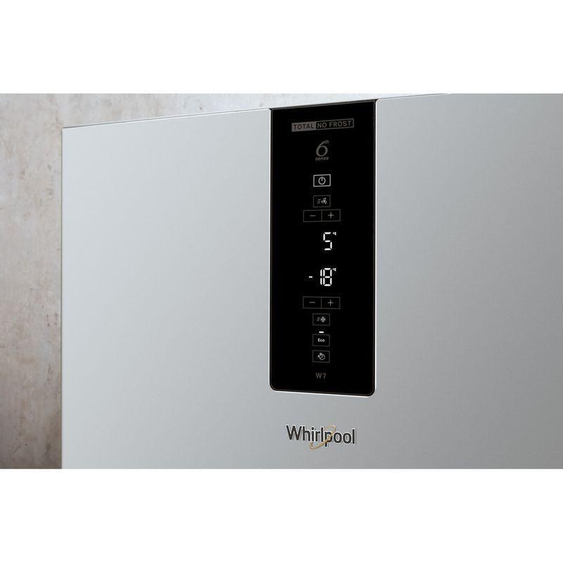 Whirlpool-Combine-refrigerateur-congelateur-Pose-libre-W7-832T-MX-H-Miroir-Inox-2-portes-Lifestyle-control-panel