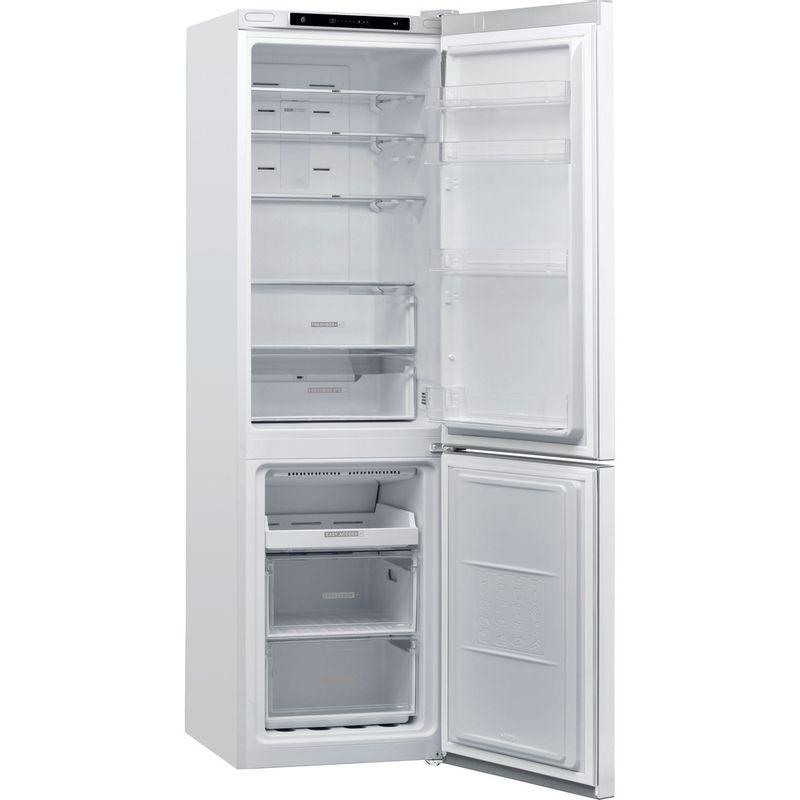 Whirlpool-Combine-refrigerateur-congelateur-Pose-libre-W7-911I-W-Blanc-2-portes-Perspective-open