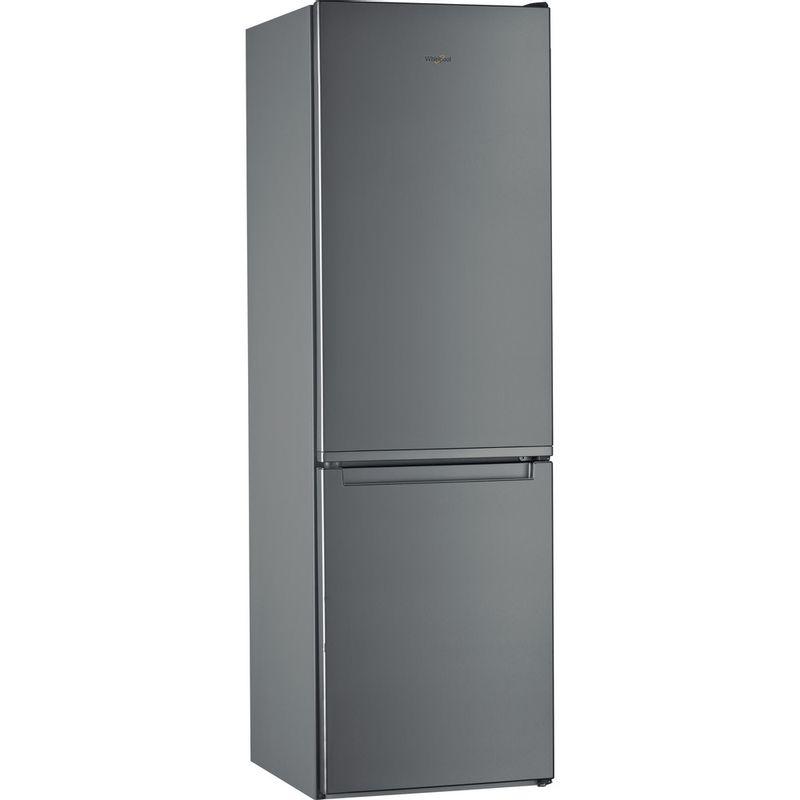Whirlpool-Combine-refrigerateur-congelateur-Pose-libre-W7-811I-OX-Optic-Inox-2-portes-Perspective