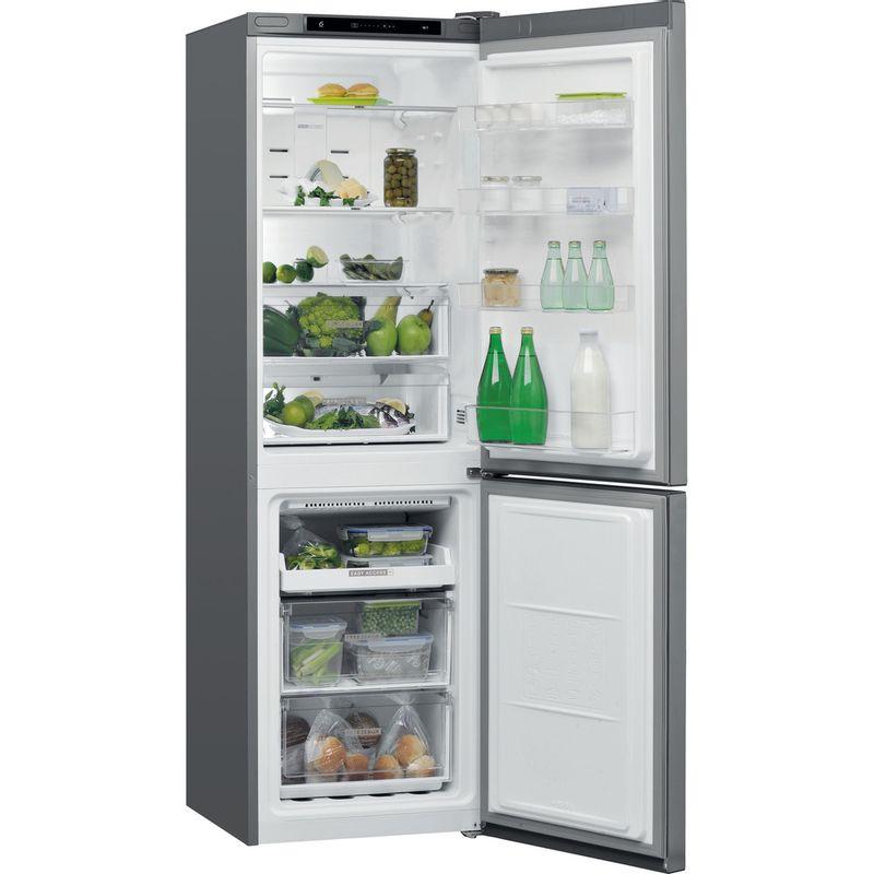 Whirlpool-Combine-refrigerateur-congelateur-Pose-libre-W7-811I-OX-Optic-Inox-2-portes-Perspective-open